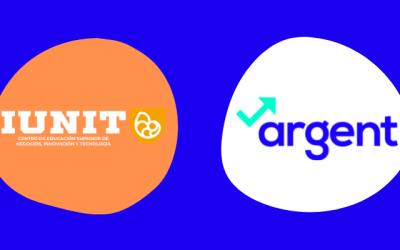 Acuerdo de colaboración entre IUNIT y Argent Spain para el enriquecimiento de los conocimientos financieros